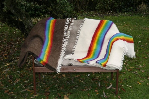 Regenbogendecken