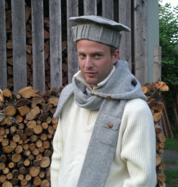Hut aus Loden